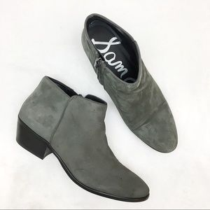 Sam Edelman Petty suede ankle boot bootie prac NWT